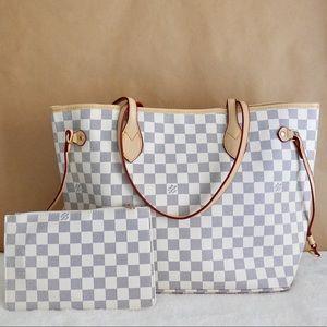 Louis Vuitton 13 x 12 x 7 azur